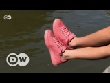 Sneaker aus Kaugummi | DW Deutsch