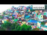 Das Regenbogen-Dorf - ein indonesisches Dorf verwandelt sich in ein Farbenmeer