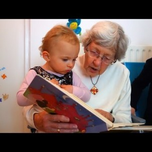 A Preschool In A Nursing Home Promotes Growth & Friendship