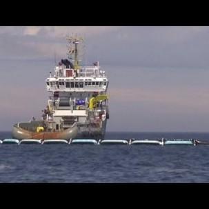 Riesenköcher für Plastikmüll in der Nordsee - science
