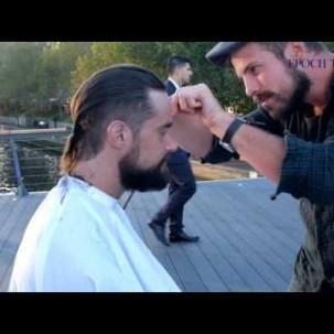 Kostenloser Haarschnitt für Obdachlose