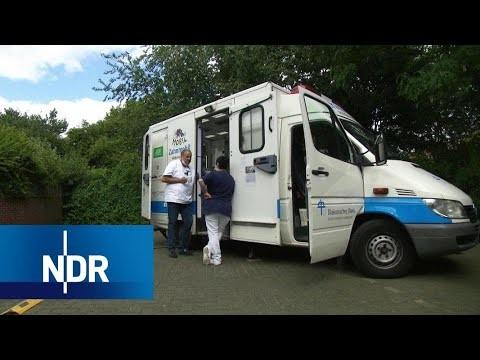 Zahnmobil: Hilfe für Obdachlose und Versicherungslose | Markt | NDR